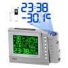 Проекционные часы c метеостанцией