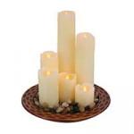 Свечи, подсвечники