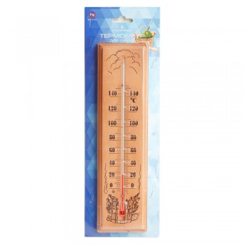 Термометр для сауны Стеклоприбор ТС исп.1 (дерево)