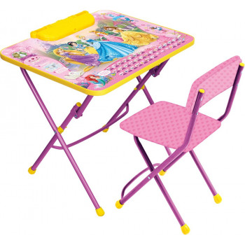 """Комплект детской мебели Ника Д3П Disney 3 """"Принцесса Дисней"""""""