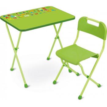 """Комплект детской мебели Ника КА2/С """"Алина-2"""", салатовый (стол и стул)"""