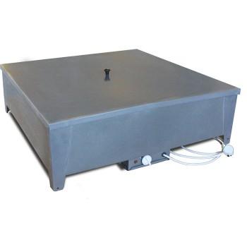Бак для душа дачного Электромаш с подогревом (металл, 128л, 2.5 кВт)