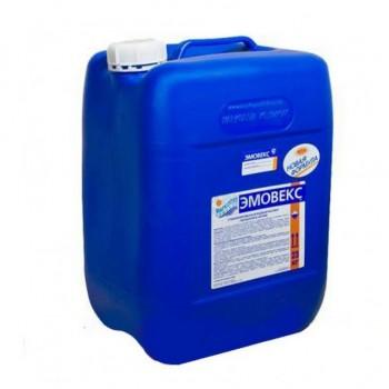 М55, Маркопул Кемиклс, ЭМОВЕКС, 20л(23кг) канистра, жидкий хлор для дезинфекции воды (водный раствор гипохлорита натрия)