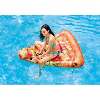 """Надувной плотик (круг для взрослых) Intex 58752 """"Пицца"""", 175х145см"""