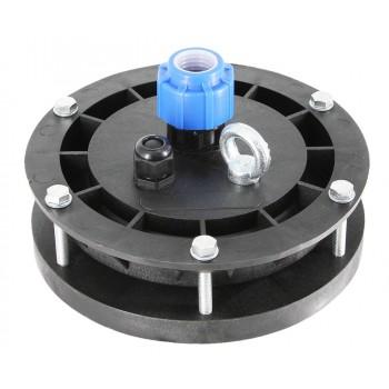 Оголовок для скважин герметичный скважинный ОГС 113-127/25 с проходной муфтой