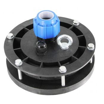 Оголовок для скважин герметичный скважинный ОГС 113-127/32 с проходной муфтой