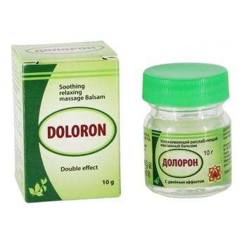 """Бальзам """"Долорон"""" успокаивающий с двойным эффектом 10 гр., от суставных и мышечных болей, устраняет отеки и воспаление"""