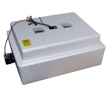 Инкубатор на 104 яйца (U=220В/12B) автоматический поворот, аналог. терморег., цифр. индик. температуры (арт.77)