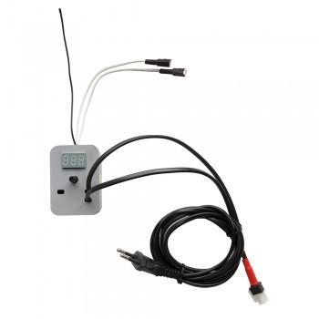 Терморегулятор №1 для инкубатора 220В аналоговый, автомат, с цифровым измерителем температуры, артикул 70