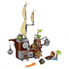 Конструктор LEPIN Пиратский корабль свинок № 75825