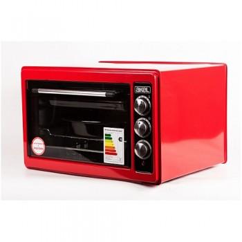 Жарочный шкаф (электродуховка) AKEL AF-730 36л, красный