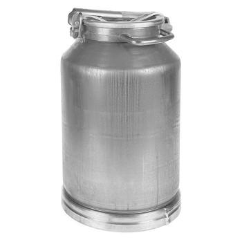 Фляга (бидон) 25л 16254 алюминиевая Белая Калитва