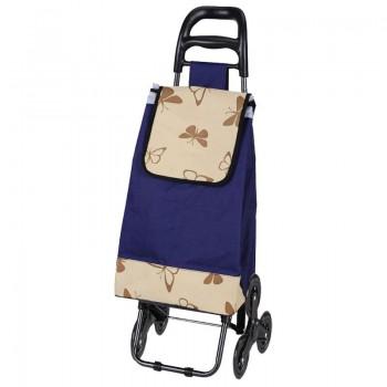 Тележка-сумка А204 Бабочки, 3 колеса, 30кг