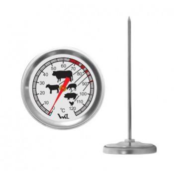 Термометр для мяса Стеклоприбор ТБ-3-М1 исп.28 с нержавеющим игольчатым щупом