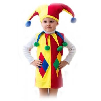 Карнавальный костюм АРЛЕКИН малый, 3-5 лет, Бока