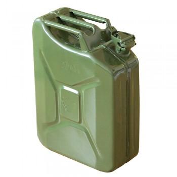 Канистра для бензина зеленая ИК-8 Поиск 20л металл