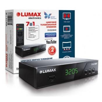 Цифровая ТВ приставка LUMAX DV3205HD DVB-T2