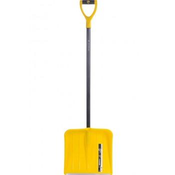 Лопата снеговая пластиковая Эксперт Скиф 380х365 мм
