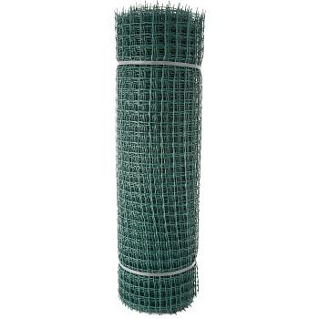 Садовая пластиковая решетка ПРОФИ, рулон 1х20 м, ячейка 33х33 мм