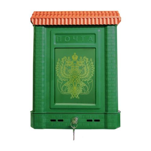 Ящик почтовый Премиум внешний с замком и 2-мя ключами (пластик, 390х280х75мм)