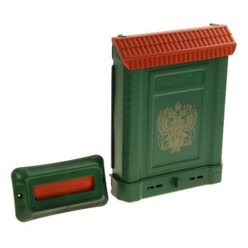 Ящик почтовый Премиум внутренний с декоративной накладкой (пластик, 390х280х75мм)