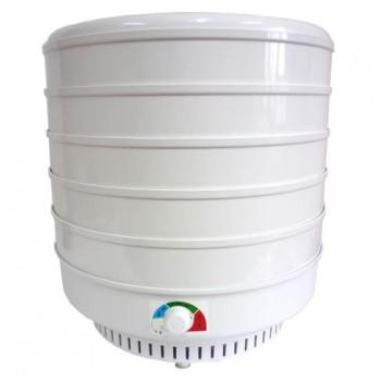 Сушилка для овощей и фруктов ЭСОФ-0.6/220 Ветерок-2 (электросушилка 5 белых поддонов 39 см)
