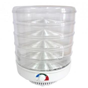 Сушилка Ветерок-2 для овощей и фруктов (электросушилка 5 прозрачных поддонов 39 см)