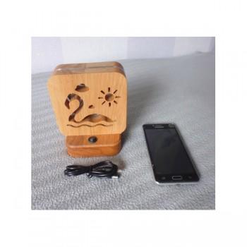 Светодиодный ночник Buken «Фламинго» из дерева