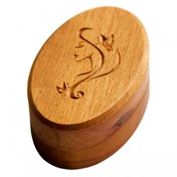 Шкатулка деревянная Buken «Девушка»