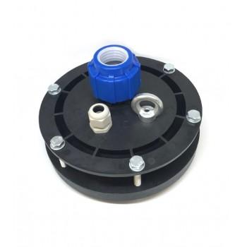 Оголовок герметичный скважинный ОГ 116-128/25 с проходной муфтой