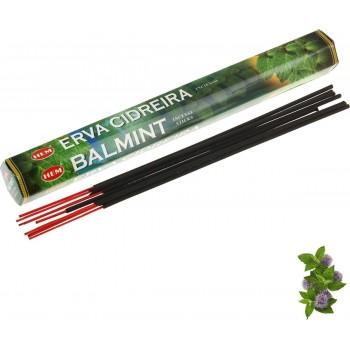 Благовония (ароматические палочки) Бальзамическая Мята (Balmint), HEM, 20 шт. в упаковке (шестигранник)