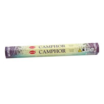 Благовония (ароматические палочки) Камфора (Camphor), HEM, 20 шт. в упаковке (шестигранник)