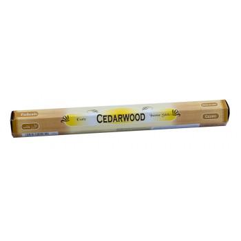 Благовония (ароматические палочки) Кедр (Cedarwood), SARATHI, 20 шт. в упаковке (шестигранник)