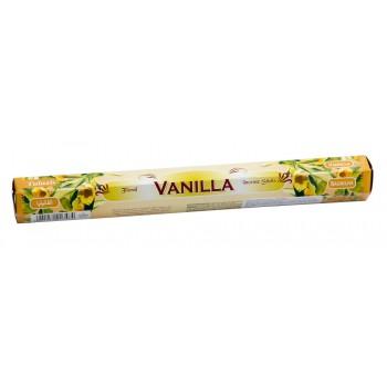 Благовония (ароматические палочки) Ваниль (Vanilla), SARATHI, 20 шт. в упаковке (шестигранник)