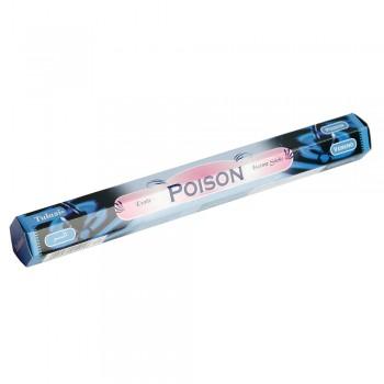 Благовония (ароматические палочки) Sarathi Poison (Яд) 20 шт. в упаковке (шестигранник)