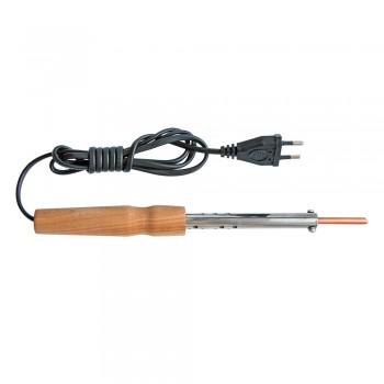 Электропаяльник со съёмным паяльным стержнем ЭПСН 65/220В (с винтом, деревянная ручка)