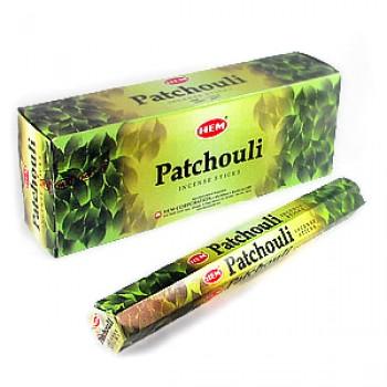 Благовония (ароматические палочки) Hem Пачули (Patchouli), 20 палочек