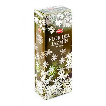 Благовония (ароматические палочки) Hem Цветение Жасмина (Jasmine Blossom), 20 палочек