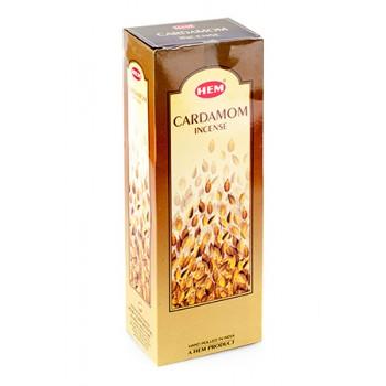 Благовония (ароматические палочки) Hem Кардамон (Cardamom), 20 палочек