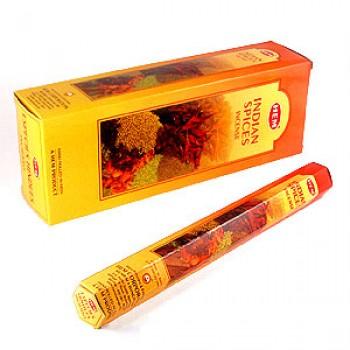 Благовония (ароматические палочки) Hem Индийские Специи (Indian Spices), 20 палочек