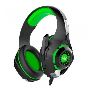 Гарнитура игровая CROWN CMGH-101T black&green