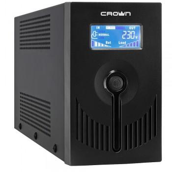 Источник бесперебойного питания CROWN CMU-SP650IEC LCD USB