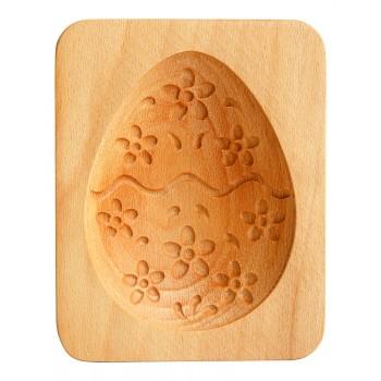 Форма для пряника (пряничная доска) Buken «Яйцо пасхальное с цветами»