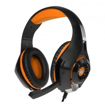 Гарнитура игровая CROWN CMGH-102T black&orange