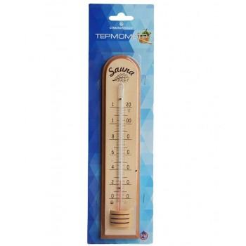 Термометр для сауны ТС-10, дерево