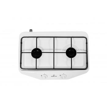 Газовая плита GRETA 1103G(2)N 500 MN 00 (W) белая, 2 конфорки
