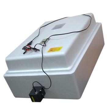 Инкубатор домашний Несушка на 77 яиц с автоматическим поворотом, цифровым терморегулятором с гигрометром (артикул 59г)