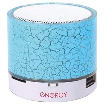 Колонка портативная Bluetooth ENERGY SA-01 с LED-подсветкой