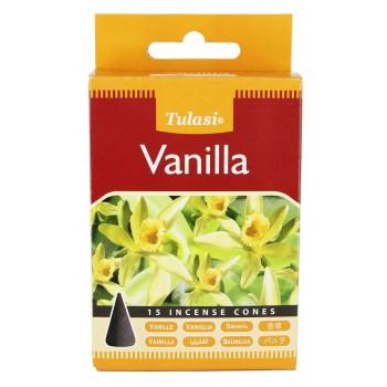 Благовония конусные Tulasi Vanilla
