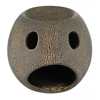 Аромалампа Мурашки черная, керамика